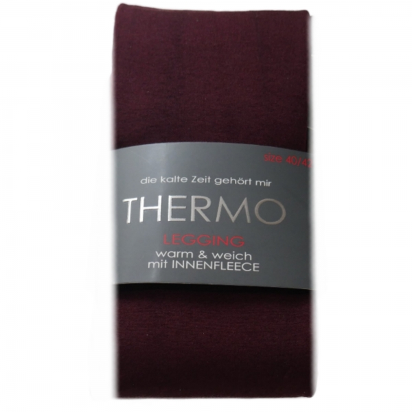 Damen Thermo-Leggings | Warm & Weich mit Innenfleece